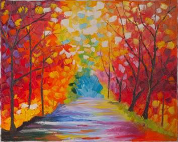 Treed path