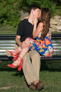 bench-kissing